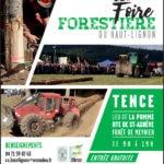 11ème foire forestière du Haut-Lignon @ Tence